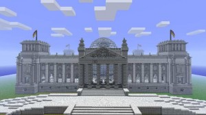 Minecraft Reichstag Building image