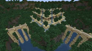 Minecraft Hanging Gardens of Babylon image