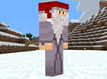 Minecraft Santa Claus image