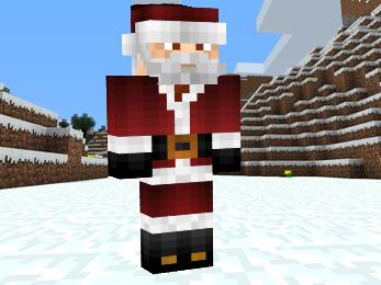 Minecraft Santa Claus image 3