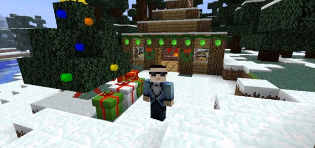 Minecraft Christmas Craft Mod image