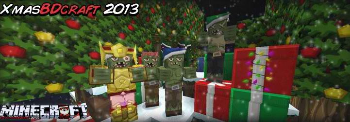 Minecraft BDCraft Christmas Resource Pack image