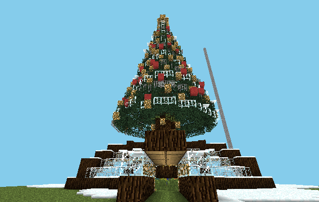 Minecraft Christmas Tree image