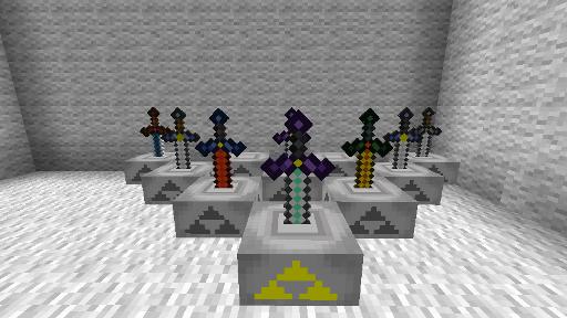 Minecraft Zelda Sword Mod image