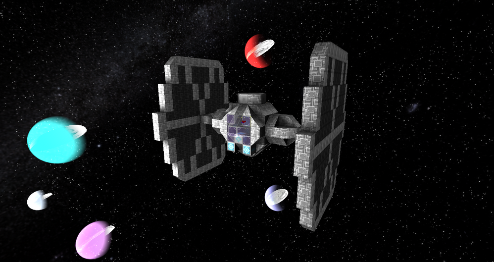 StarMade TIE Fighter image