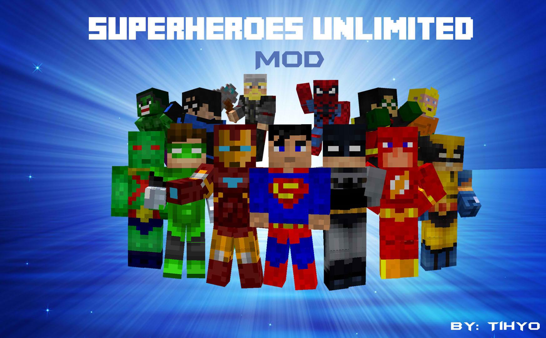 Minecraft Superhero Mod image