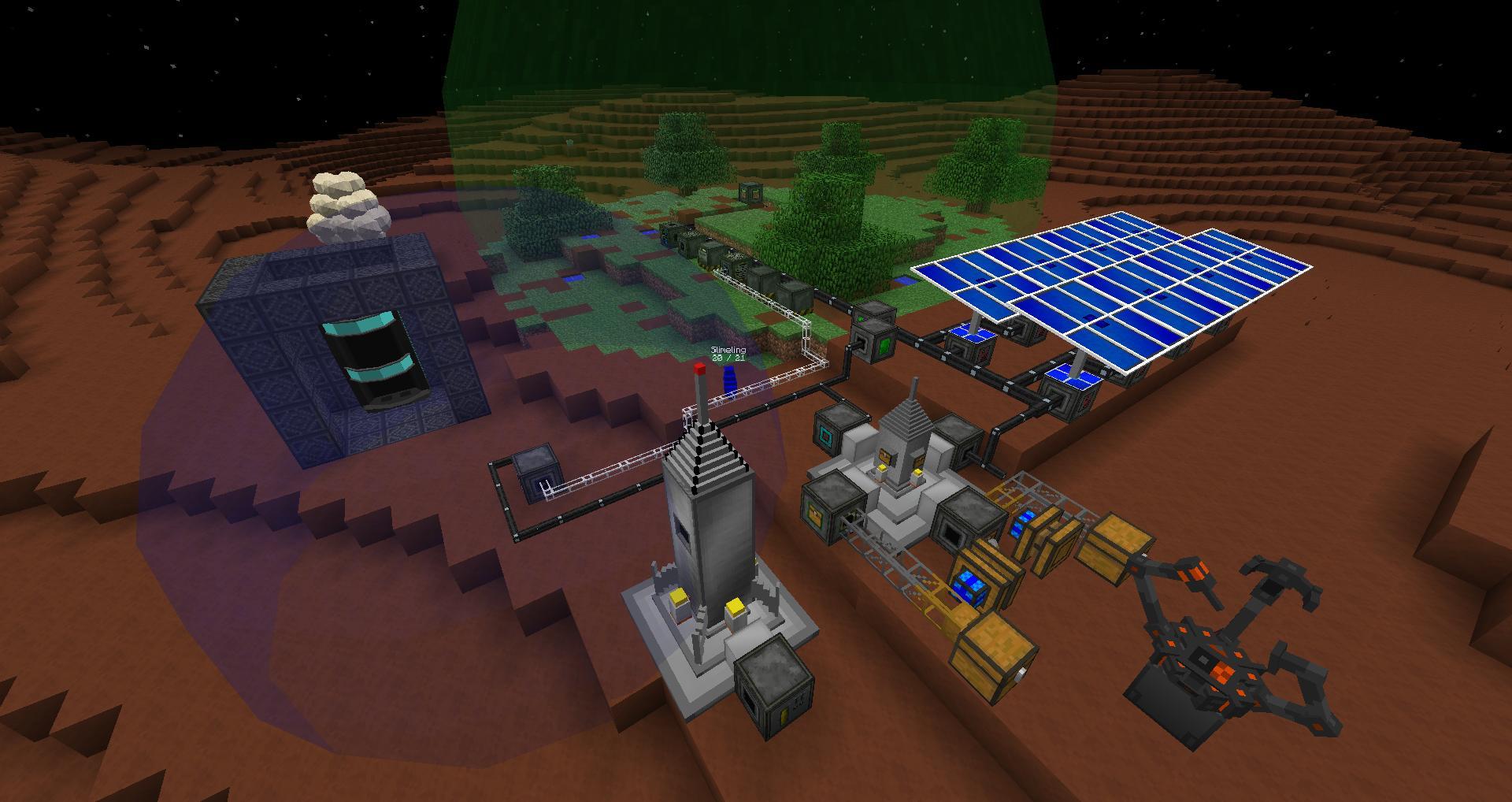 Minecraft Galacticraft Mod image