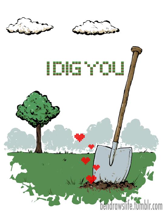Minecraft Valentine's Day image 3