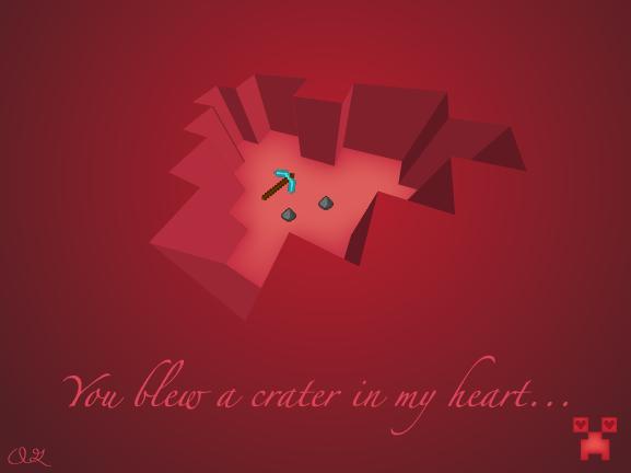 Minecraft Valentine's Day image 1