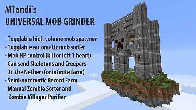 Minecraft Mob Grinder image