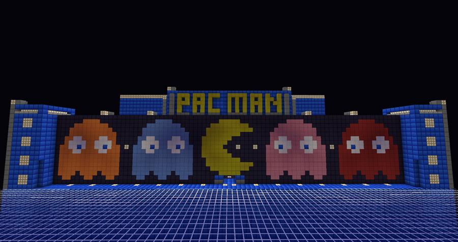 Minecraft Pac Man image
