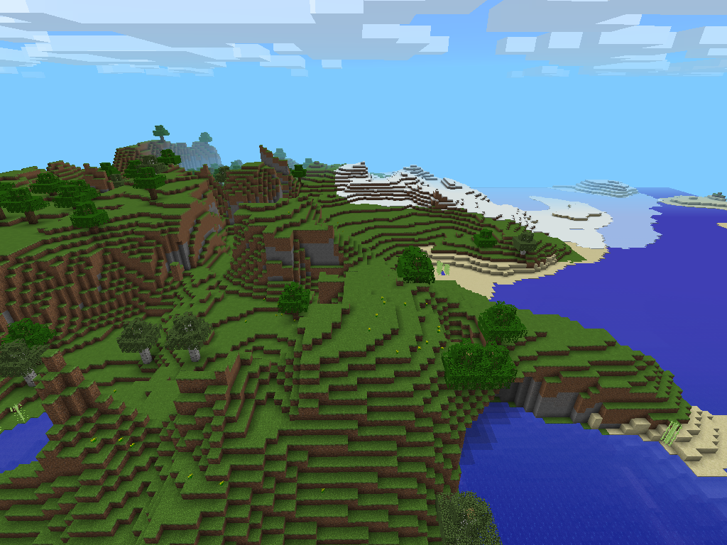Minecraft Pocket Edition Seeds image 2