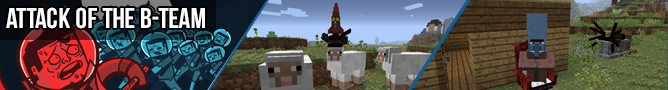 Minecraft Attack of the B-Team Mod Pack image