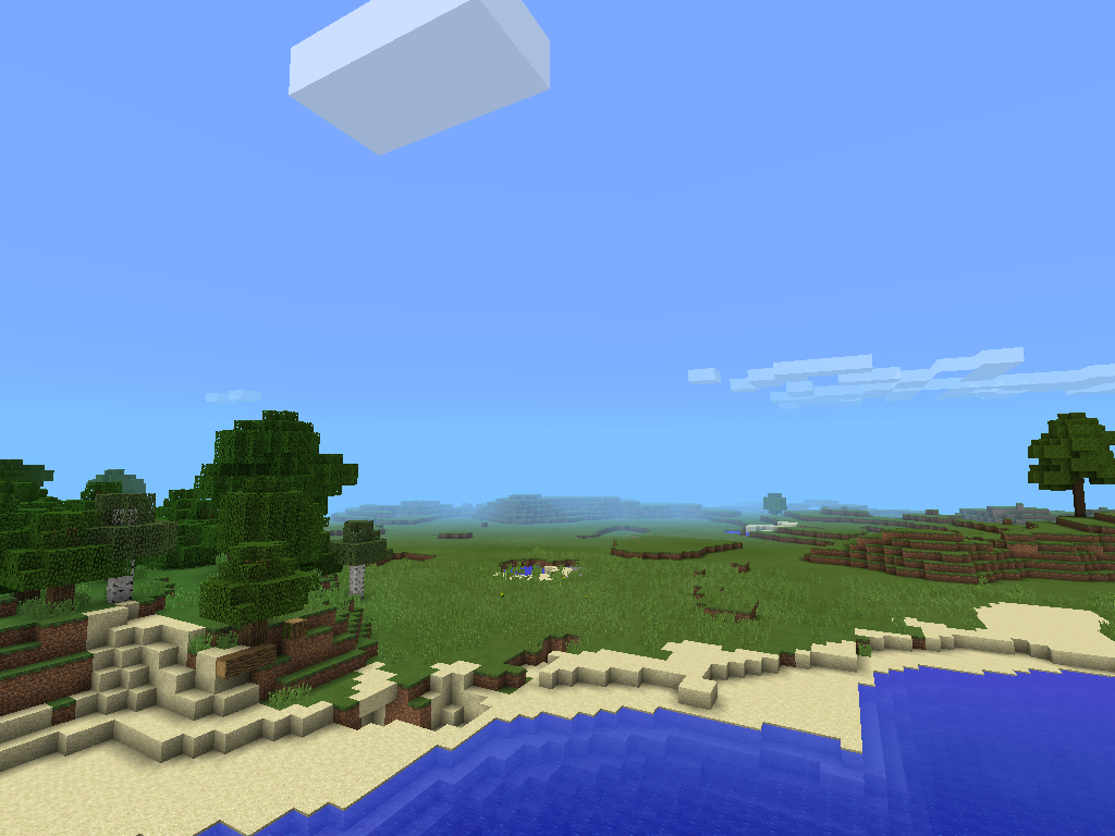 Minecraft Pocket Edition 0.9 Seed 2 image