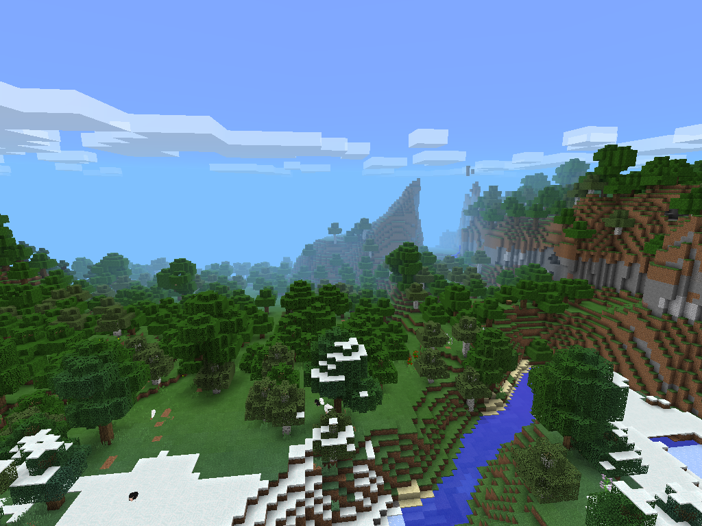 Minecraft Pocket Edition 0.9 Seed 3 image