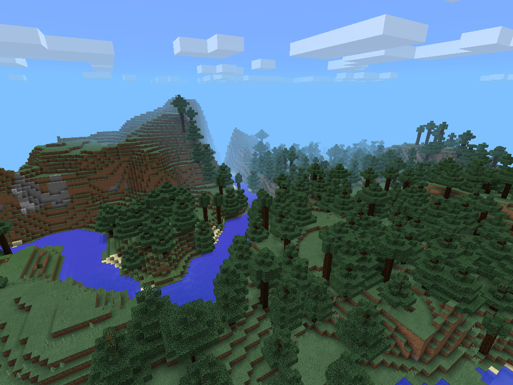 Minecraft Pocket Edition 0.9 Seed 4 image