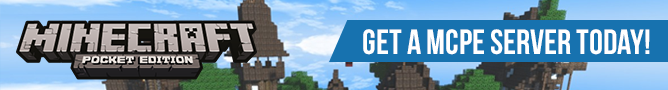 Minecraft Pocket Edition server blog image