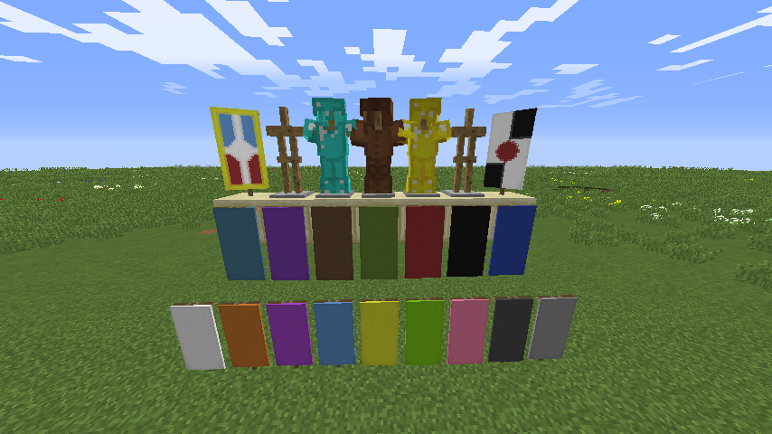 Minecraft 1.8 Banners image