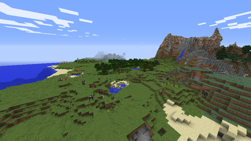 Minecraft Landscape image