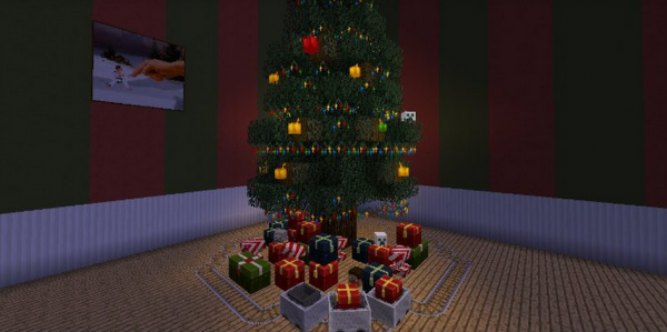 Christmas Minecraft Decorations.Envioushost S Top 5 Minecraft Christmas Resource Packs