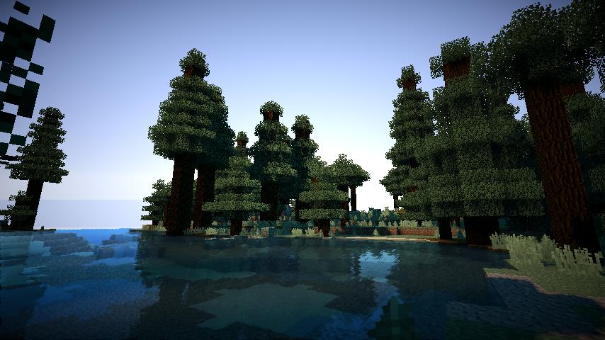 Minecraft CUDA Shader image