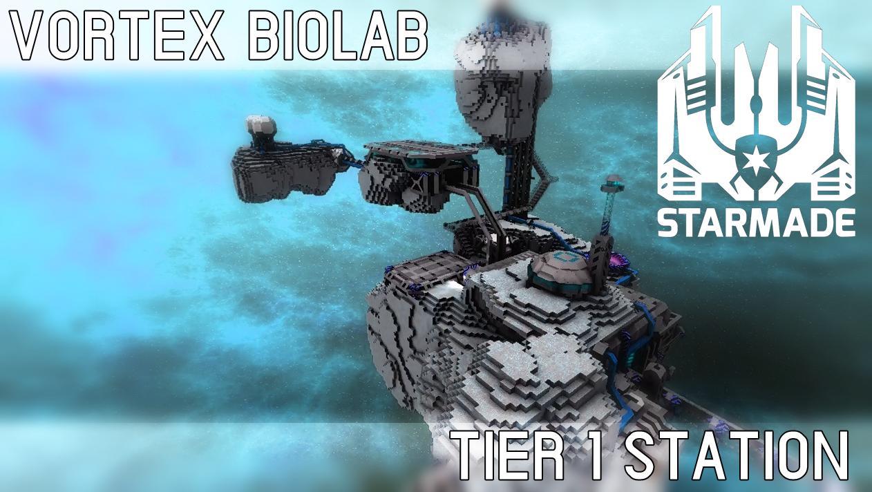 StarMade Vortex Biolab Space Station image