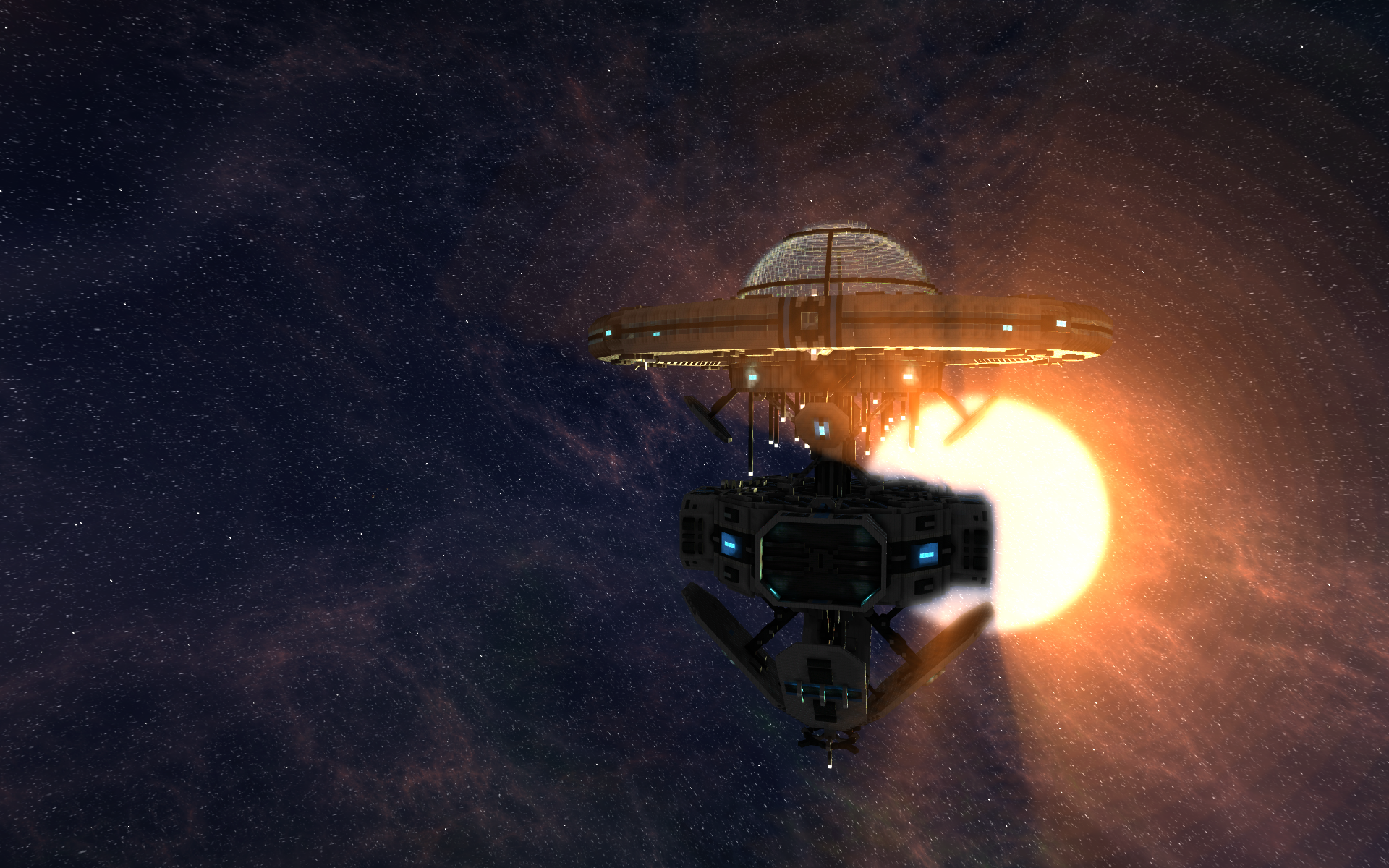 StarMade Trading Guild Outpost Image