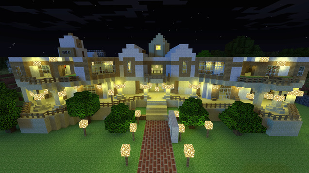 Minecraft Mansion in Garry's Mod image