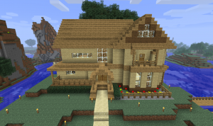 Minecraft Survival Mode House