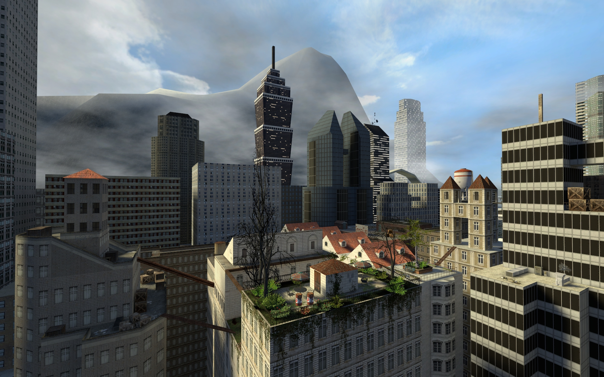 Garry's Mod RoofTops Map image