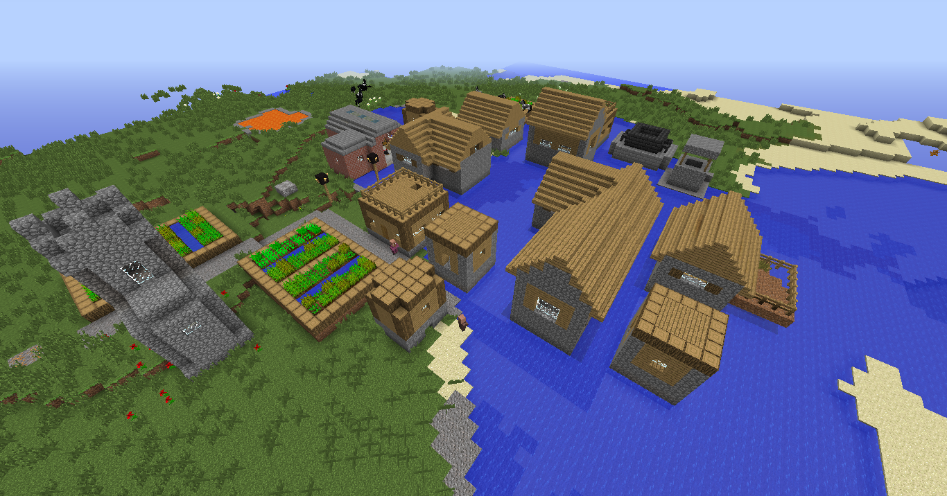Minecraft Tech World image