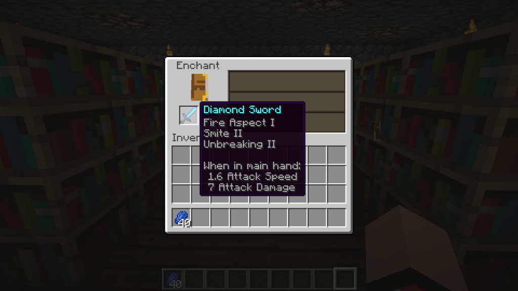 how to use enchantment table in minecraft pe
